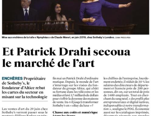 Le Journal du Dimanche :  Et Patrick Drahi secoua le marché de l'art
